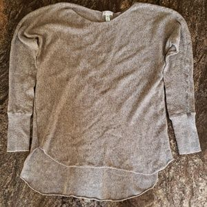 Susina high low tunic sweater size M